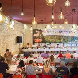 Ateliers du gout festival des vins d'aniane