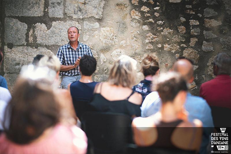 Initiation à la dégustation Festival des vins d'Aniane