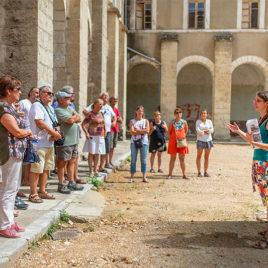 Visite de l'abbaye d'aniane Festival des vins d'Aniane
